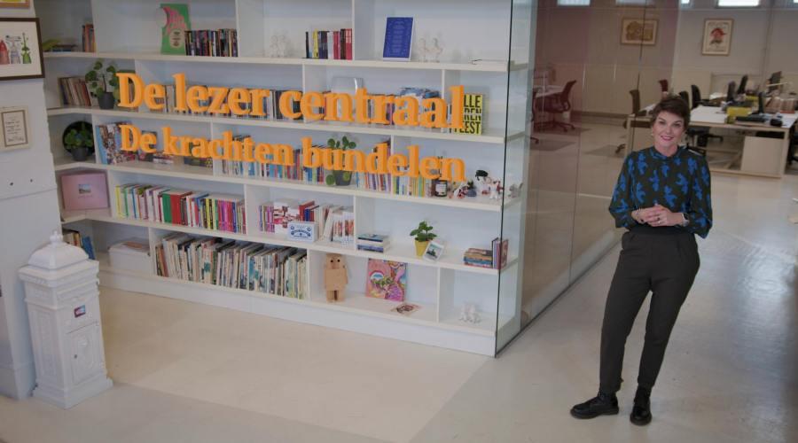 CPNB, boekenmarkt, nieuwjaarsvideo