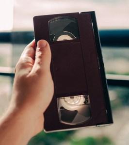 VHS videoband delen
