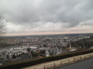 laon vue du haut de la ville