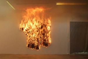 "Claire Fontaine - ""France burnt/unburnt"""