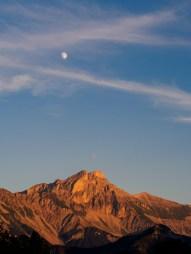 33/52 - The Great Ferrand, moon rise, sun set