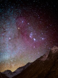 52/52 - Orion wathches over the Vanoise glaciers