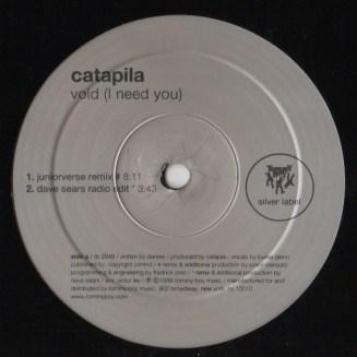 """Catapila,""""Void (I Need You)"""""""