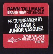 """Dawn Tallman, """"Save a Place on the Dancefloor for Me"""" (Letteer)"""