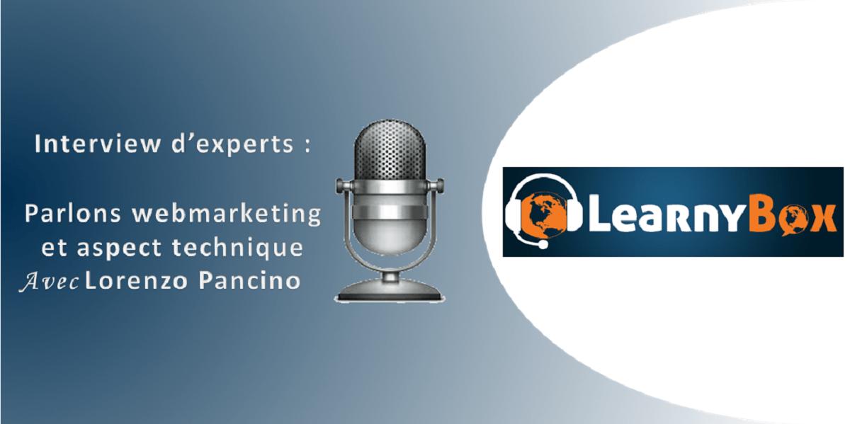 interview lorenzo Pancino LearnyBox