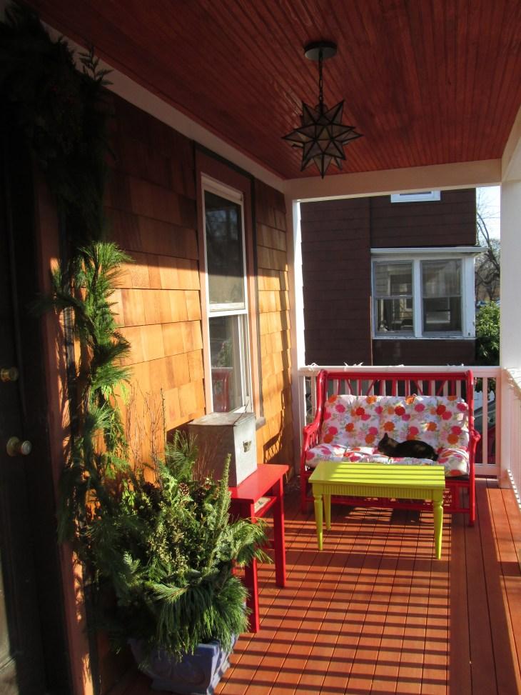 Porch, 99% complete