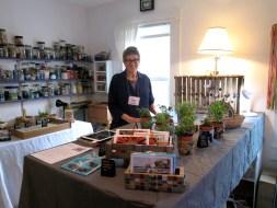 Susan Altman in her studio