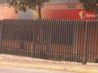 """Esto no fue hecho por los """"tupamaros"""", fue hecho por los """"manifestantes pacificos"""". Quema del Banco de Venezuela, Sucursal CC Canta Claro. Avenida Las Americas. Mérida."""