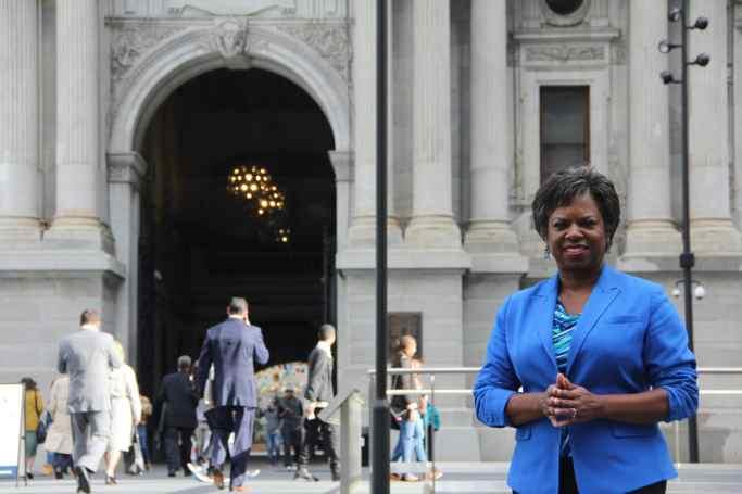 Jerri Williams at City Hall
