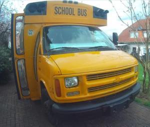 Schulbus gebraucht kaufen?