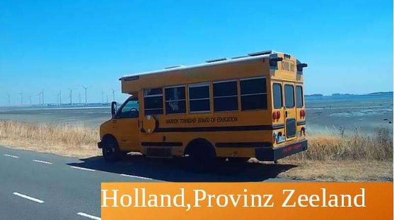 Mit dem Bus als Wohnmobil nach Holland