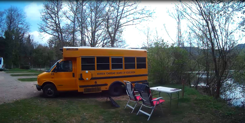 Mit dem Kleinbus Wohnmobil nach Bad Kreuznach