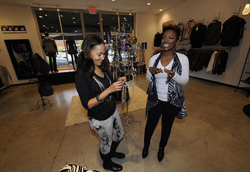 Peaches and Kandi at Tags Boutique