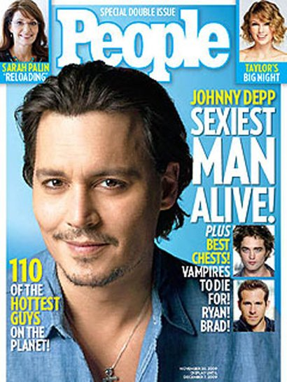 JD's 2009 Sexiest Man cover...