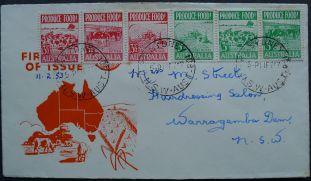 Australia, Food security: Produce more food campaign, 1953
