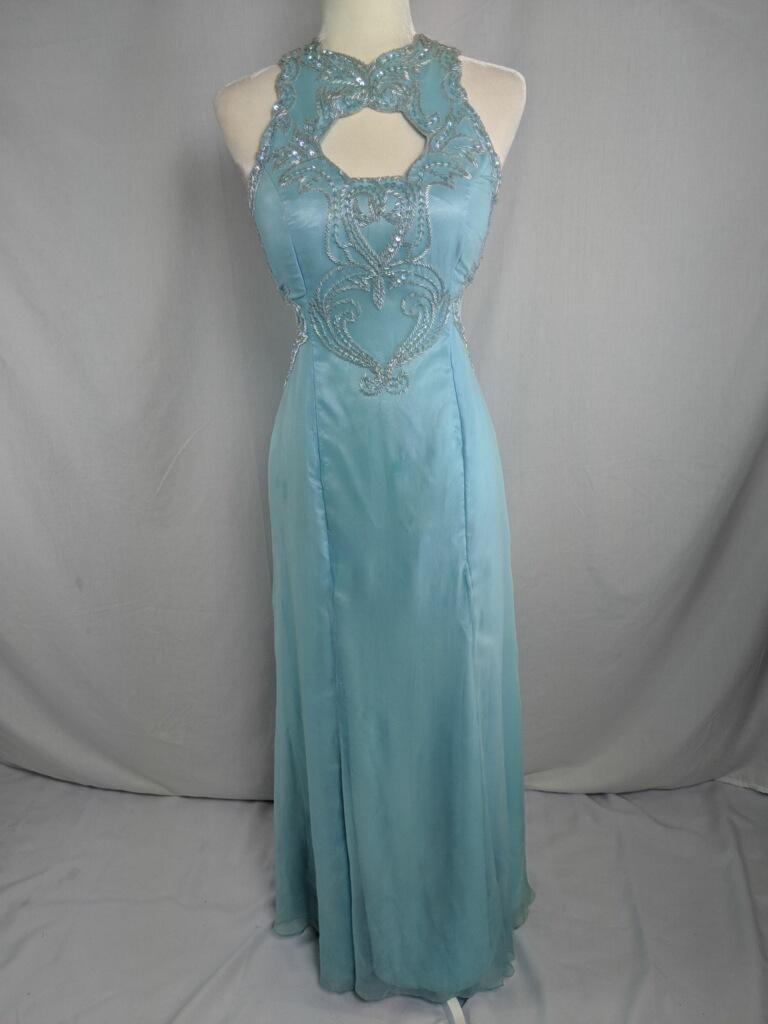 Beaded Evening Gown | a-DRESS Hospice Awareness