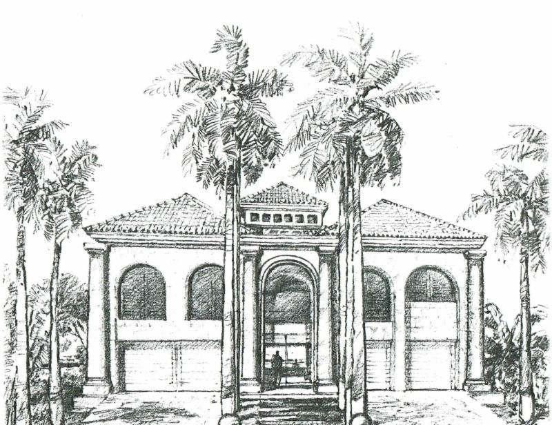 Architect Sketch Jerry Jacobs