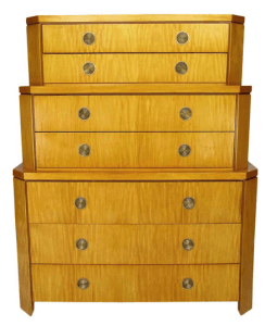 Charlie Pfister. Primavera Triple Chest-onChest by Baker. At 1stdibs.