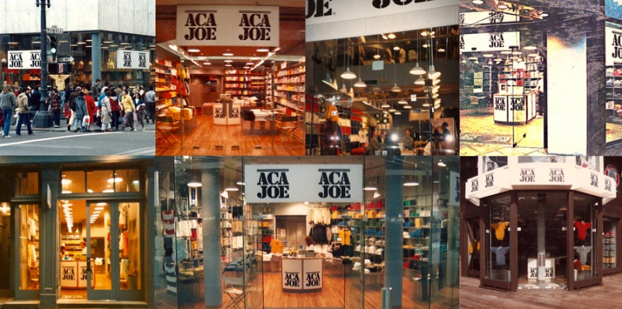 Aca Joe International stores