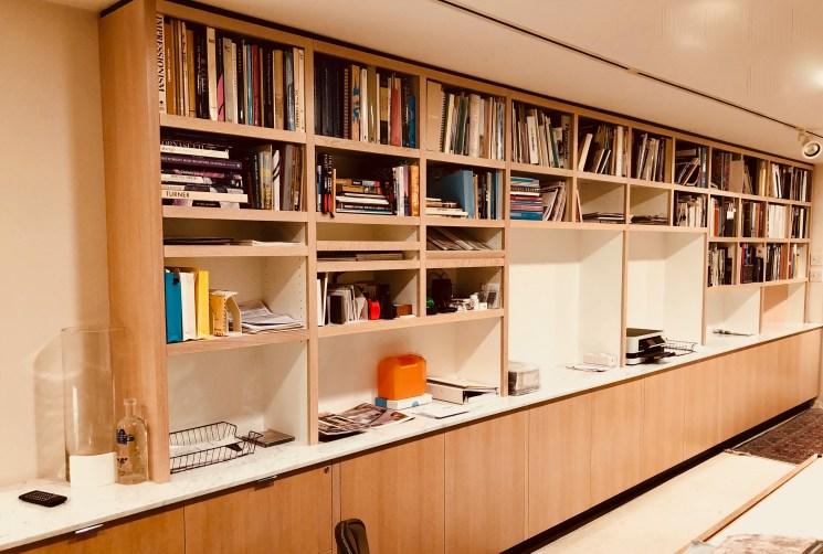 Custom home Libraries display walls