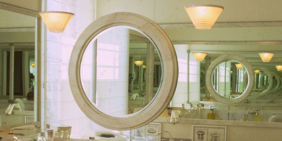 Mirrored walls