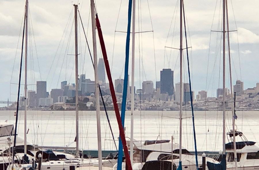 The Tiburon condo view.
