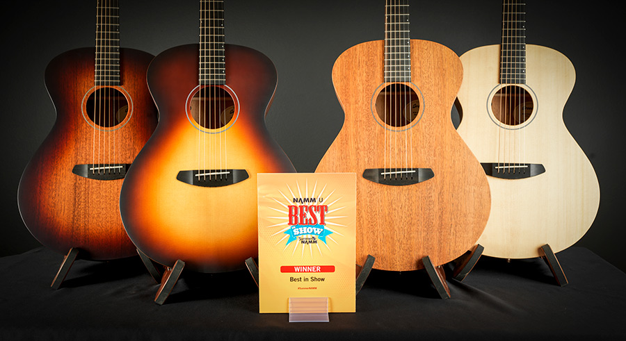 Breedlove USA Series gets Best in Show at NAMM