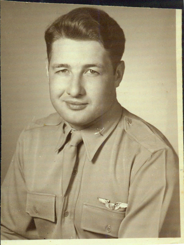 Clarence Raymond Schorer in USAF uniform