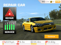 Real Racing3 Car Damage