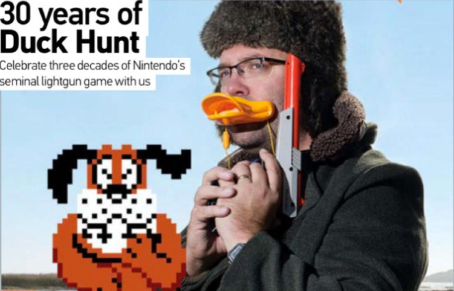 Retro Gamer Interview Cover