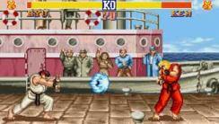 Street Fighter Screen