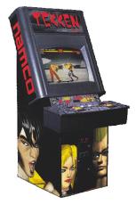 Tekken arcade cabinet, circa 1994