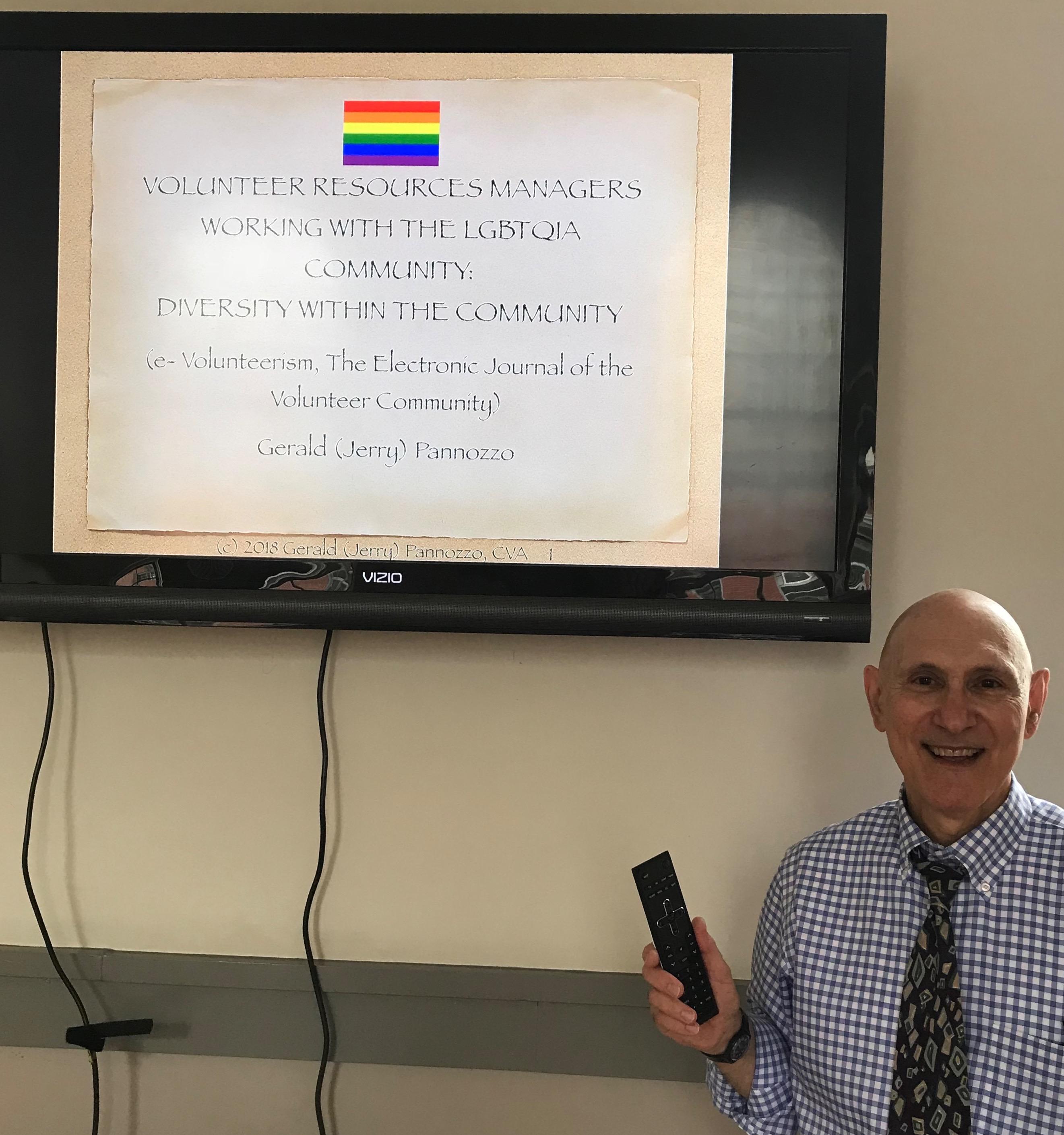 Workshop And Speaking History Jerry Pannozzo Cva
