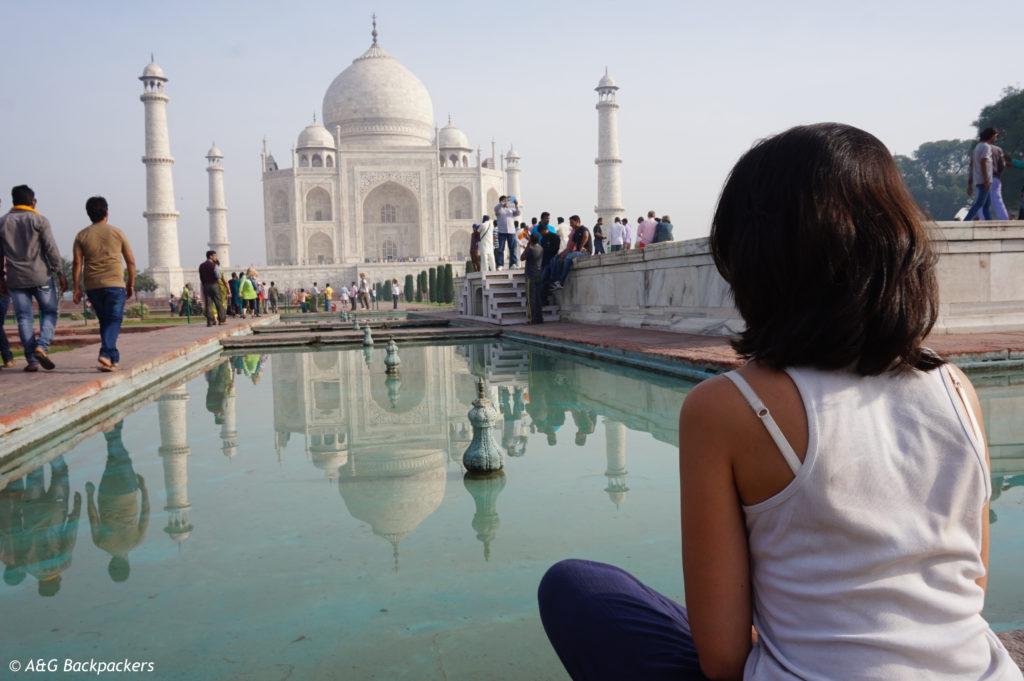 Taj Mahal à Agra en Inde