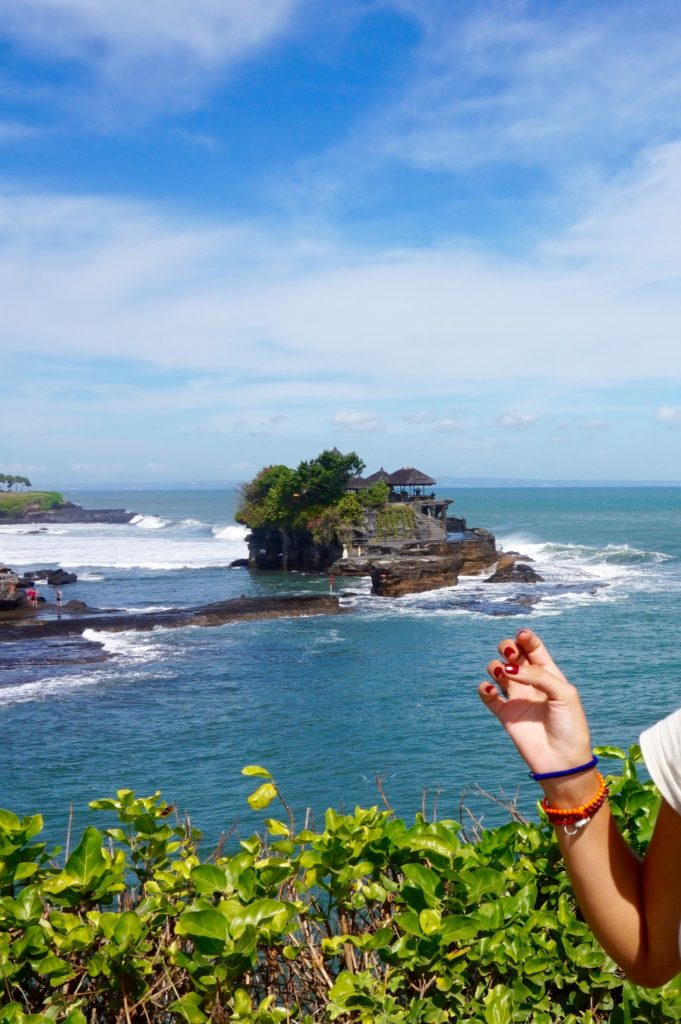 Tanah Lot Low tight (2nd visit): Hello it's the Temple