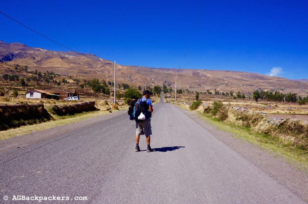 Au milieu de nulle part, entre Yanque et Achoma
