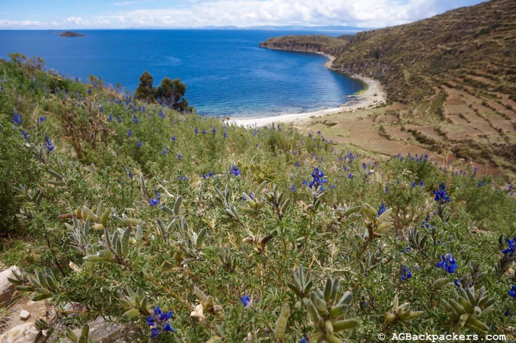 Copacabana Isla Del Sol Bolivie Quelle vue incroyable, on se croirait en Grèce...