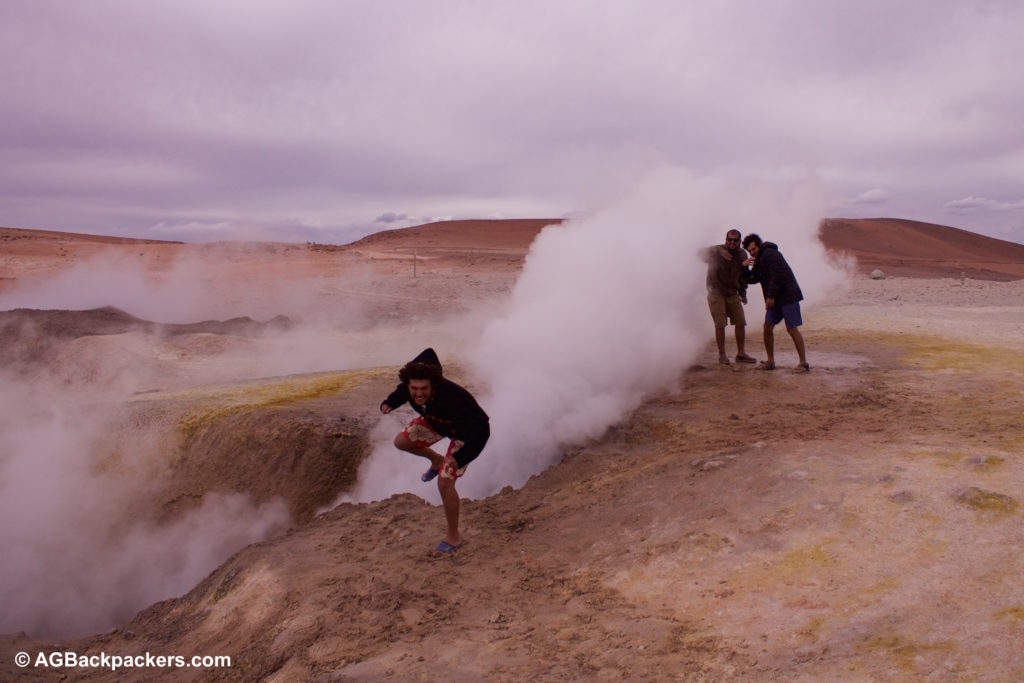 Geyser Sud Lipez Uyuni Bolivie