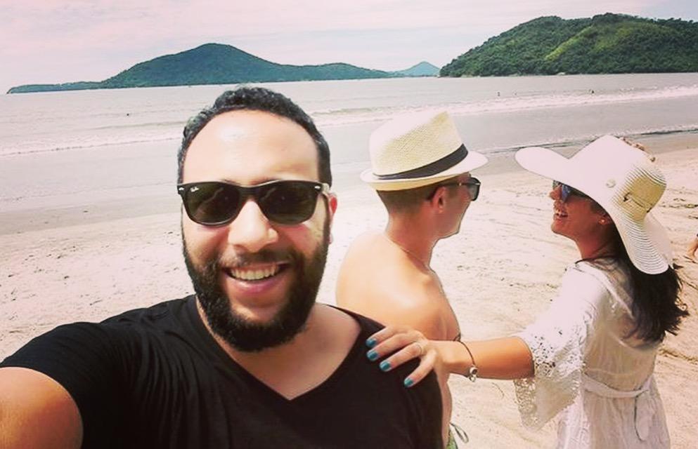 Rencontre avec Gloabtlax à Ubatuba au Brésil