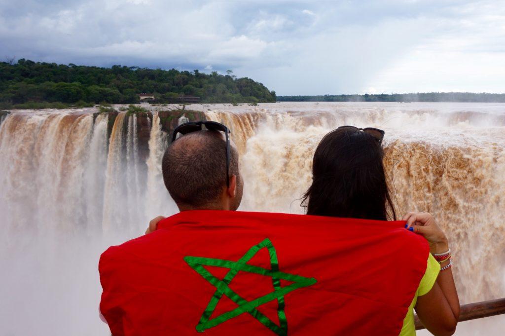 Photo prise dans les Chutes d'Iguazu côté Argentin