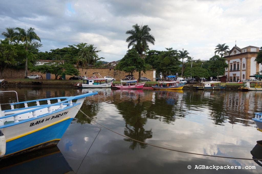 Port de plaisance de Paraty Rio de Janeiro Brésil