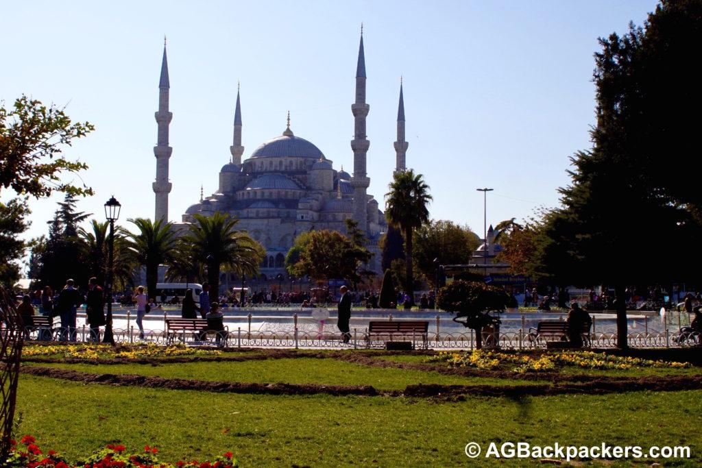 Istanbul - la mosquée bleue Turquie