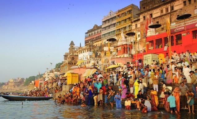 best cities meilleurs villes du monde Varanasi Inde
