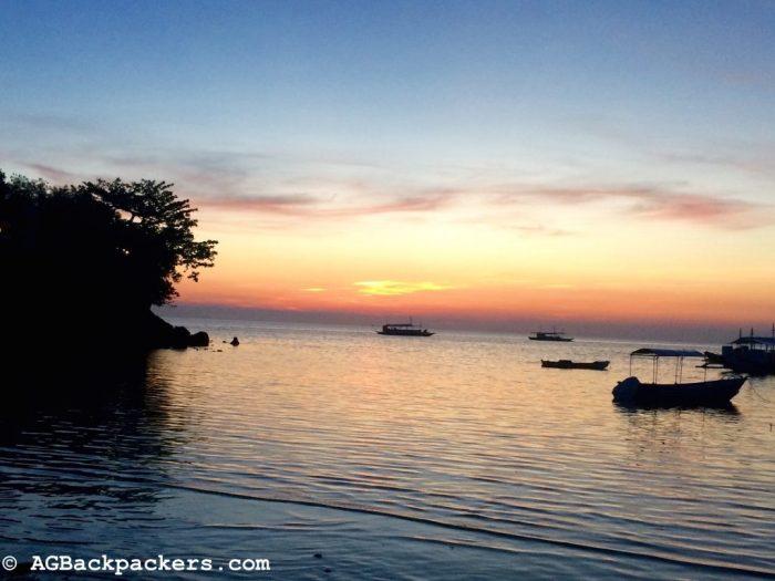 Coucher du Soleil Malapascua