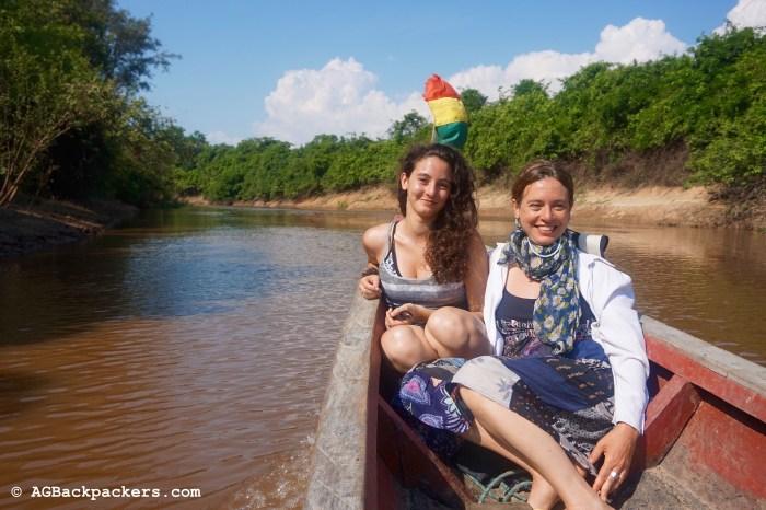 Gabi et Dali dans la Pampa Bolivienne en Amazonie