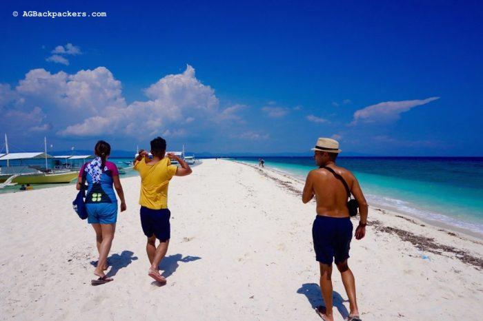 Paradise called Kanlanggaman Island with Marn and Shirley