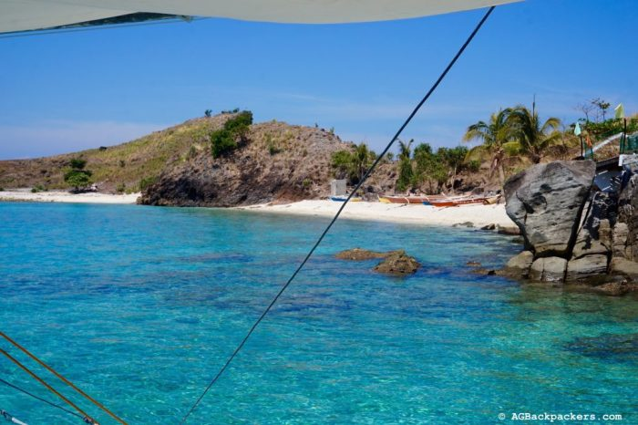 Plage paradisiaque dans les environs de Malapascua - Sambauan Island