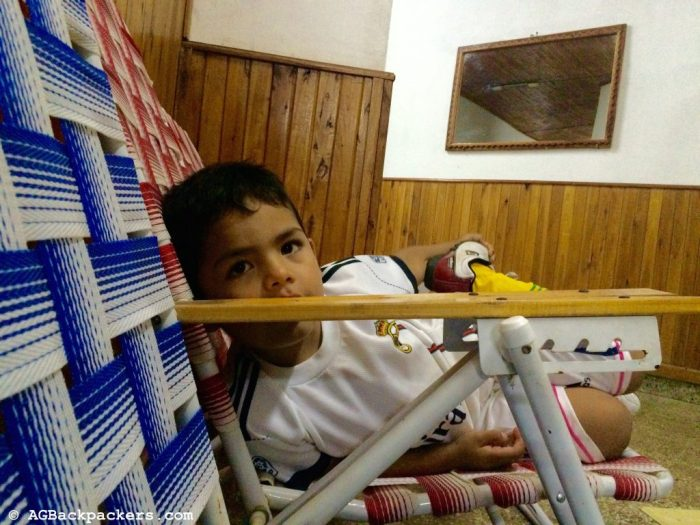 Miguel, 5 ans - Argentine