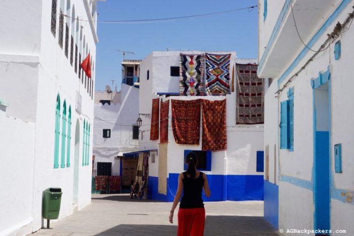 Balade dans les rue de la médina d'Asilah - Les Tapis de la Médina
