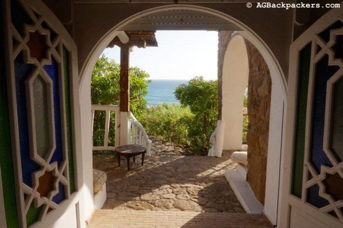 Vue depuis la maison avec vue sur mer - Asilah